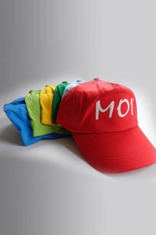 Baseball Cap Pet met de tekst MOI