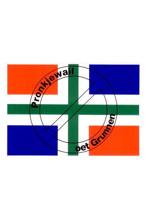 Sticker Groningen Pronkjewail