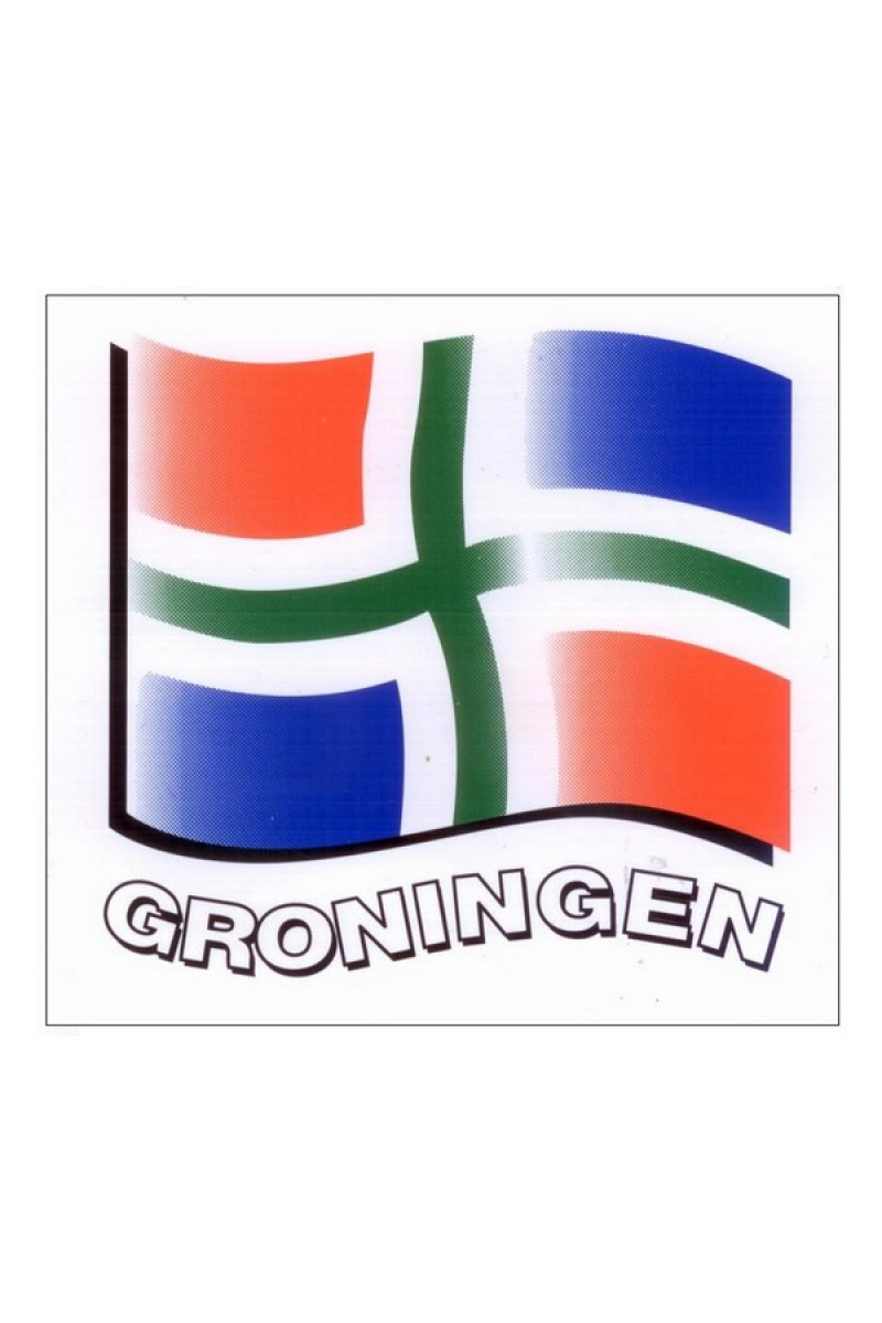 Sticker Groningen Groninger Artikelen