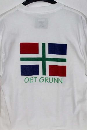 T-Shirt met Groningse vlag uit Groningen