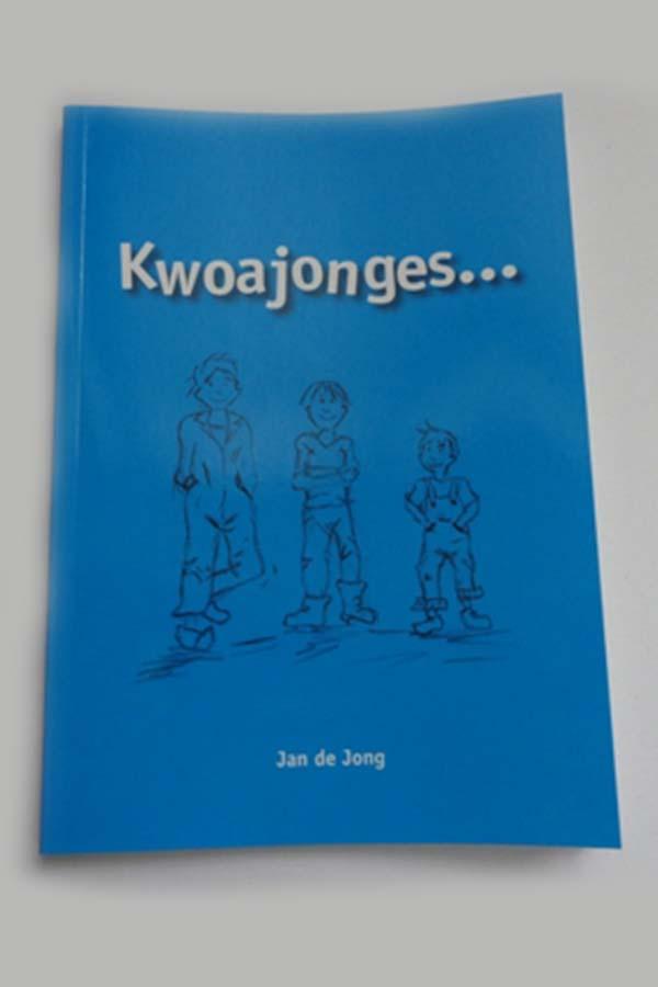 Kwoajonges boek in de Groningse taal