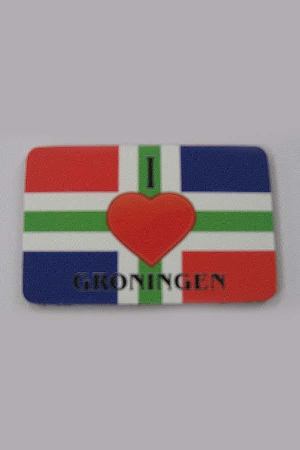 Flexmagneet I love Groningen