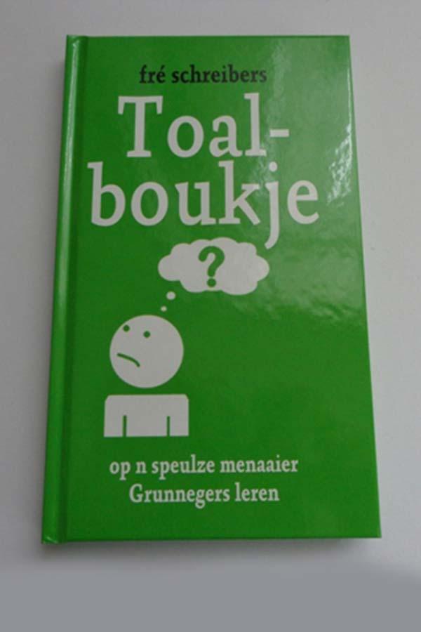 Toalboukje, Boek om het Gronings te leren
