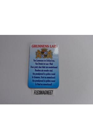 Flex magneet Grunnens Laid
