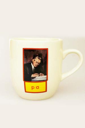 Koffiemokje Pa, Gronings kopje koffie