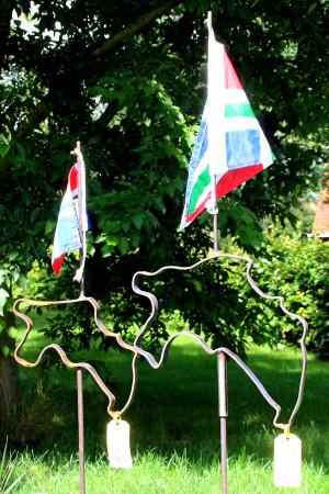 Tuinstander Groningen metaal