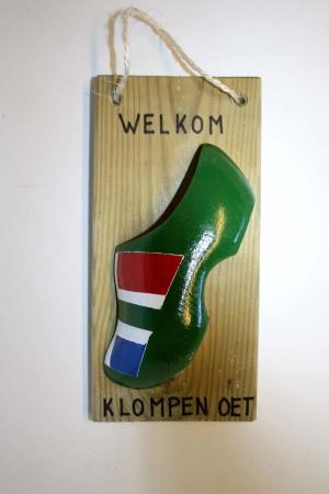 Klompenbordje Groningen