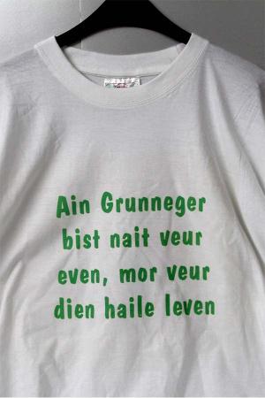 T-Shirt Ain Grunneger bist nait..