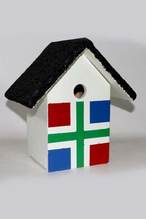 Nestkastje met Groninger vlag