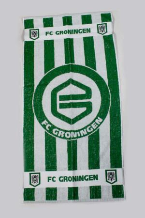 FC Groningen Handdoek gestreept