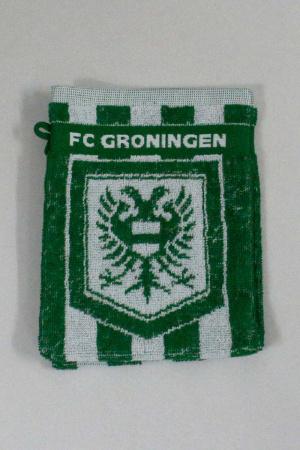 FC Groningen washandjes wit met wapen