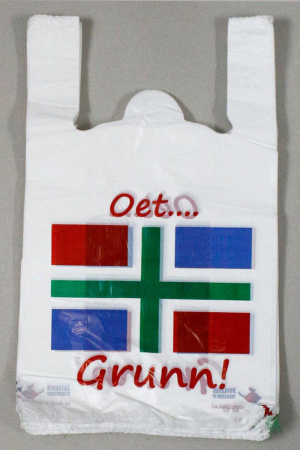Plastic draagtas Groningen