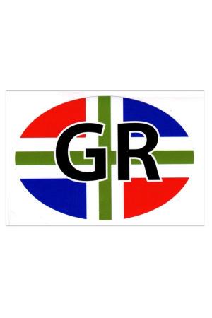 Sticker Groningen autosticker