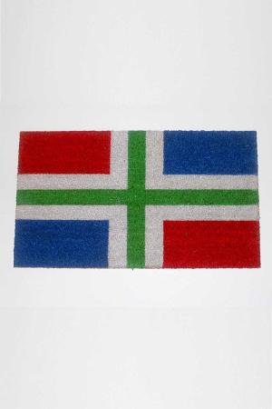 Deurmat met Groninger vlag