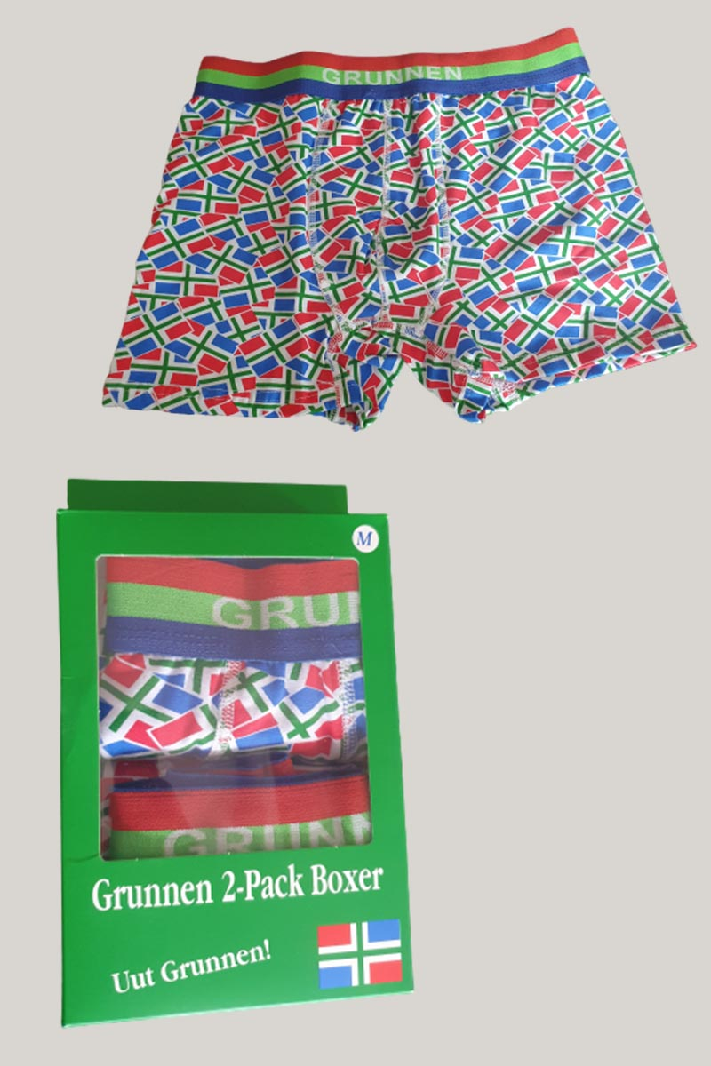 Groninger boxershorts 2-pack
