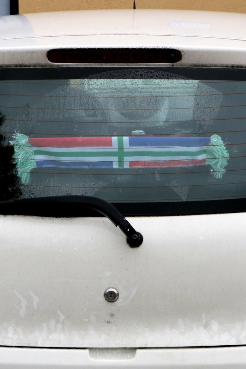 Autosjaal Groninger vlag