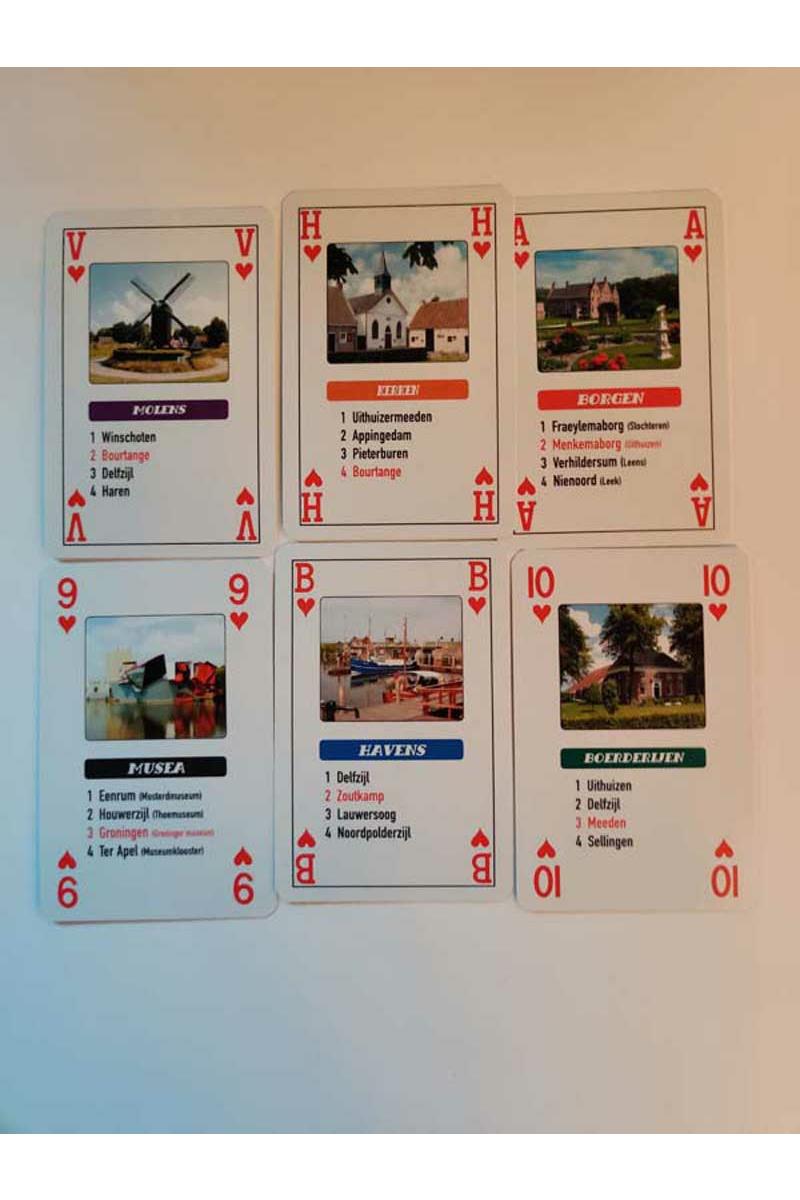 Kwartet- en speelkaarten Groningen